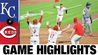 Joey Votto's walk-off double leads Reds | Royals-Reds Game Highlights 8/11/20