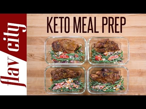 Video Bodybuilding Recipes To Bulk Shred – Keto Meal Prepping That Doesn't Suck