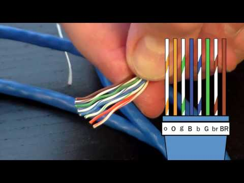 How to Make an Ethernet Cable! – FD500R Crimp Tool Demonstration