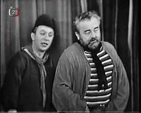 Jan Werich a Miroslav Horníček - Forbína 1. z Těžké Barbory