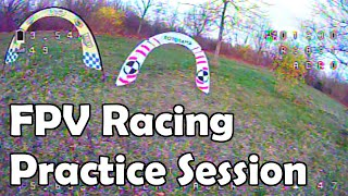 Flying and flying and flying - FPV Racing Practice with Lila Racer and the Sailfly