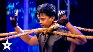 Judges STOP Crazy Man on Sri Lanka's Got Talent | Got Talent Global