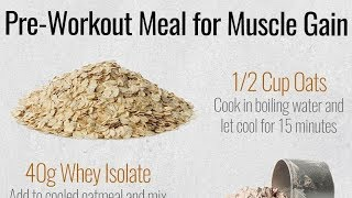 Pre Workout Meal For MUSCLE GAIN | Gym High (hindi/punjabi)