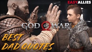 God of War - Best Dad Quotes