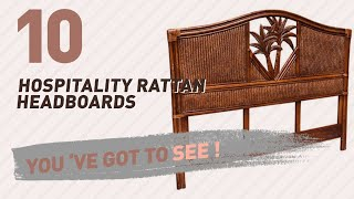 Hospitality Rattan Headboards // New & Popular 2017