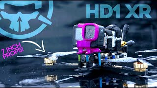Can a 7-inch Drone Freestyle? RIPPING a BIG FPV Kwad!