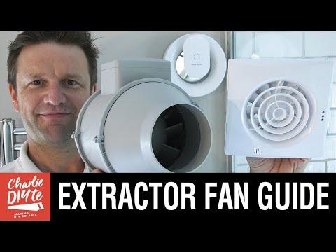 Bathroom Extractor Fans - a DIY Guide