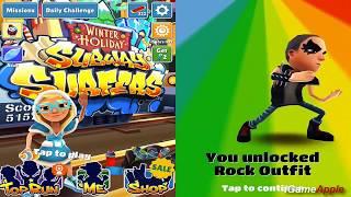 Subway Surfers Winter Holiday VS Prague iPad Gameplay for Children HD #306
