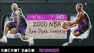 Vince Carter's iconic Dunk Contest deserves a deep rewind   2000 NBA Slam Dunk Contest