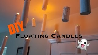 DIY Floating Candles | Halloween Decorations