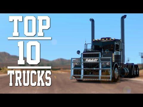 Top 10 Trucks mods for American Truck Simulator 2018 | Toast 🚚
