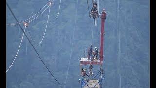 Hành trình khó nhọc xây dựng cáp treo Fansipan Sapa