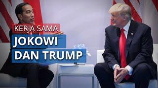 Presiden Jokowi dan Presiden Trump Sepakat Jalin Kerja Sama Alat Kesehatan untuk Menangani Covid