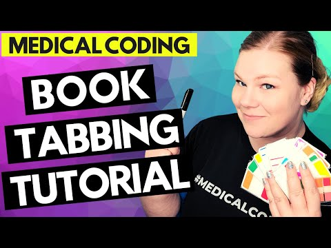 MEDICAL CODING BOOK TABBING FOR CPC EXAM - Tutorial for ...