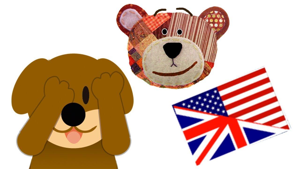 Vídeo en inglés - Juego de animales para niños