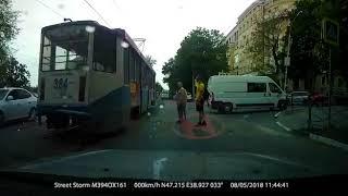 Бешеный трамвай в Таганроге
