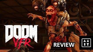 Annihilating Demons In VR! DOOM VFR - Review