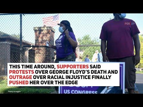 Ferguson protest leader Cori Bush ousts political dynasty in Missouri