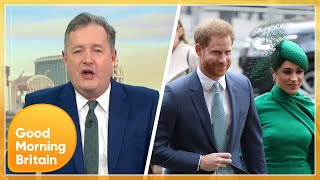 Piers and Susanna Clash Over Prince Harry & Meghan Ahead of Their TV Interview | GMB