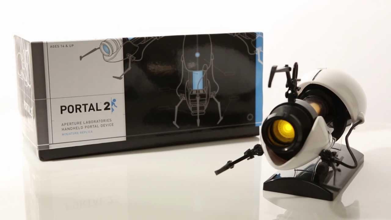 This Miniature Replica Portal Gun Does Not Actually Shoot Miniature Portals, But It's Still Cool