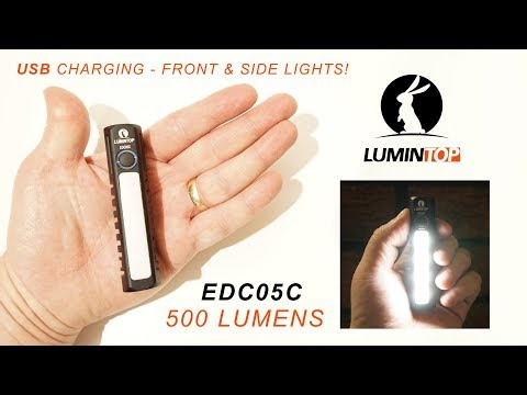 Lumintop EDC05 Review ...flashlight of the year?