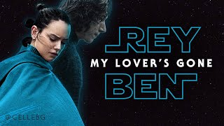 Dido - MY LOVER'S GONE lyric video | STAR WARS Rey & Ben