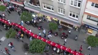 preview picture of video 'Ordu halkı da Taksim Gezi Parkı olaylarına sessiz kalmadı'