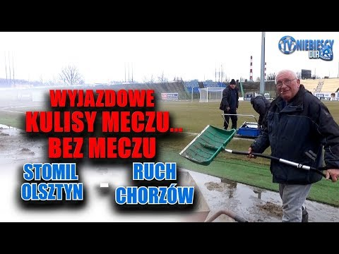 Kulisy meczu Stomil Olsztyn - Ruch Chorzów