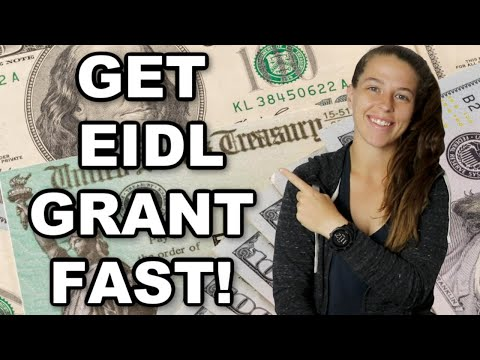 EIDL GRANT DEPOSITED IN 3 DAYS! | How to Apply for a FREE $1,000