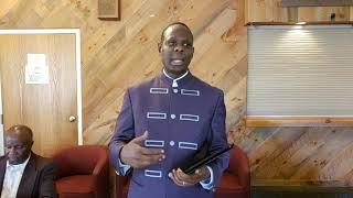 Apostle John Kimani William At Annual KAPF Pastors' Retreat, Worcester On 22 Sept 2018