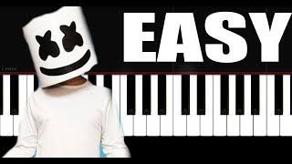 Marshmello - Together - Piano Tutorial by VN