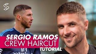 Sergio Ramos Haircut & Style | Crew Cut For Men Hair
