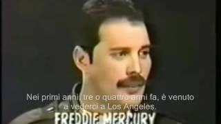 Freddie Mercury, interview SUB ITA with Lisa Robinson