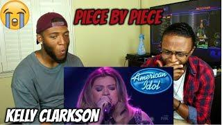 Kelly Clarkson - Piece By Piece (American Idol The Farewell Season) (REACTION)