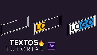 Animación de Textos y Formas After Effects Tutorial