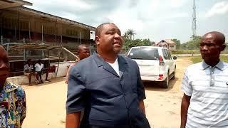 preview picture of video 'Le stade Lumumba et autres terrains de foot à Kisangani visités par Barthélémy Okito'