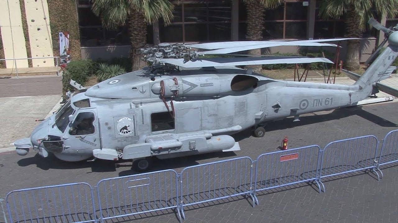 """Ένα ελικόπτερο Seahawk έχει """"προσγειωθεί"""" στην 83η ΔΕΘ!"""