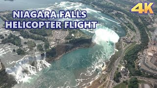 NIAGARA FALLS - HELICOPTER FULL FLIGHT 4K