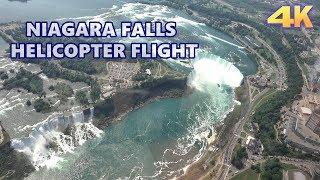 NIAGARA FALLS - HELICOPTER FULL FLIGHT 4K