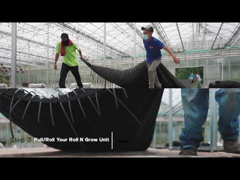 Roll'N Grow Heating Mat Installation