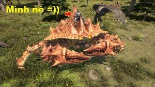 ARK: The Center #21 - Đã Bắt Được Quái Cua Khổng Lồ Giant Crab =))