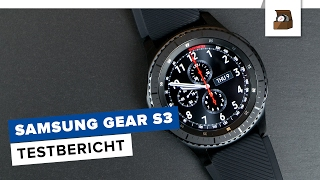 SAMSUNG GEAR S3 Frontier // Testbericht (2/2) // Deutsch // 4K