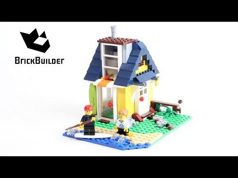 Vidéo LEGO Creator 31035 : La cabane de la plage