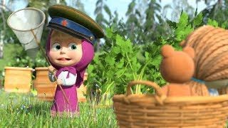 Маша и Медведь - первые серии - Джек и бобовое зёрнышко (18 серия) + Три поросёнка (13 серия)