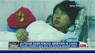 Forced late term abortion in China causes international outrage