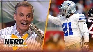 Colin Cowherd on the Cowboys' playoff hopes, credits Matt Nagy for Bears' success | NFL | THE HERD