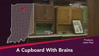 Journey Indiana - The Hoosier Cabinet: A Cupboard With Brains