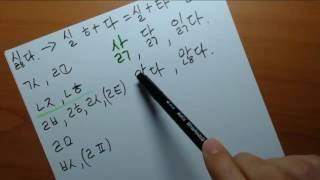 Корейский язык. (мои уроки 10)초급