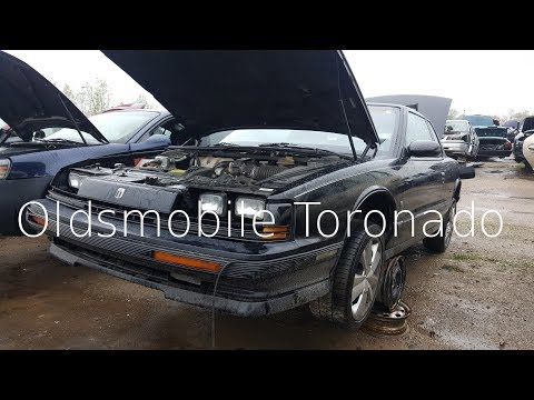 Junk Yard Finds: 1992 Oldsmobile Toronado Trofeo
