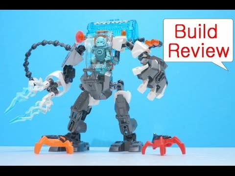 Vidéo LEGO Hero Factory 44017 : Stormer et son robot de glace